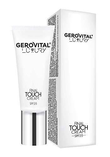 Gerovital Luxury Final Touch Cream SPF 25, para todo tipo de piel, 30 ml