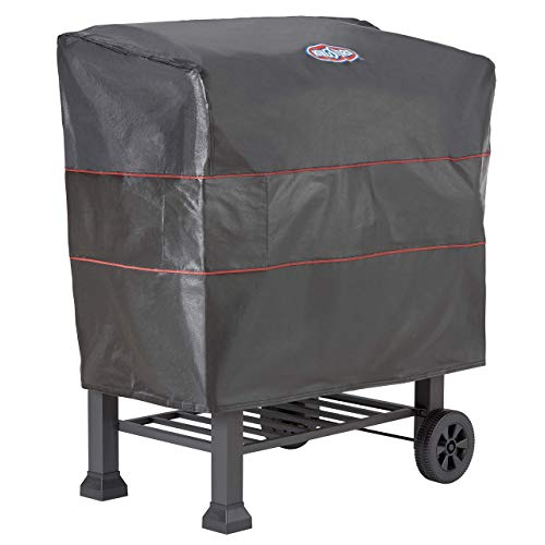 "Kingsford Black 30"" Barrel Charcoal Grill Cover (Renewed)"