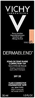 Vichy Dermablend Corrective Fluid Foundation 30ml Gold 45
