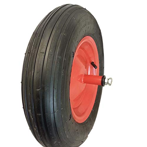 Ruota pneumatica per carriola - perno lungo