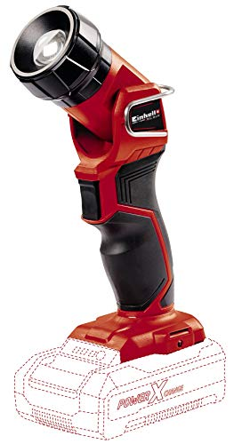 Einhell TE-CL 18 Li H Solo Power X-Change Acculamp, lithium-ionen, 18 V, lichtstroom 280 lm, hoogwaardige LED, draaibare kop, softgrip, zonder accu en oplader