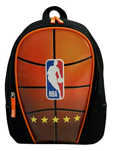 Mochila NBA Junior - Un compartimento - 35 cm - Negro