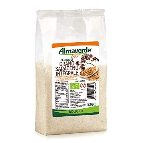 Almaverde Bio Farina di Grano Saraceno Integrale Biologica. 3 Confezioni da 500 gr.