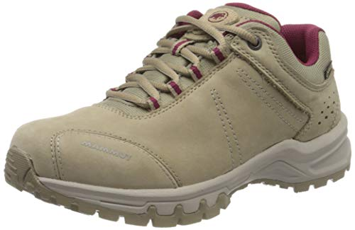 Mammut Damen Nova III Low GTX Wanderschuh, Safari-Dark Sundown, 38 EU