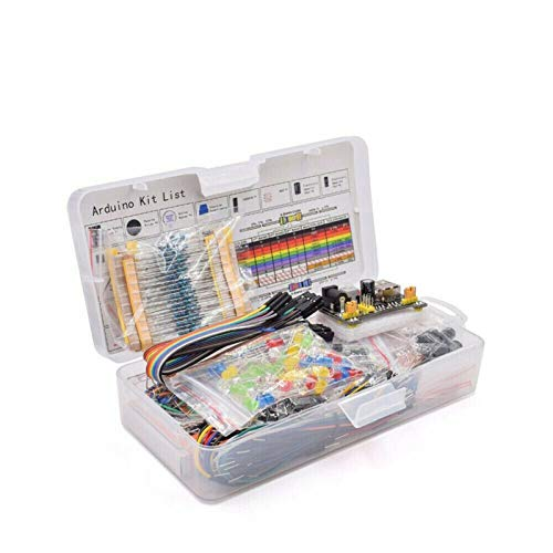 TSAUTOP Newest Electronic Component Assorted Kit For Ard-uino Raspberry Pi STM32 With 830 Tie-points Breadboard Power Supply Set Electronic Component Set