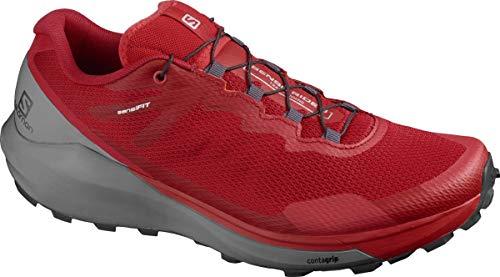 SALOMON Calzado Bajo Sense Ride 3, Zapatillas de Running Hombre, Goji B/Qush/Re, 44 2/3 EU