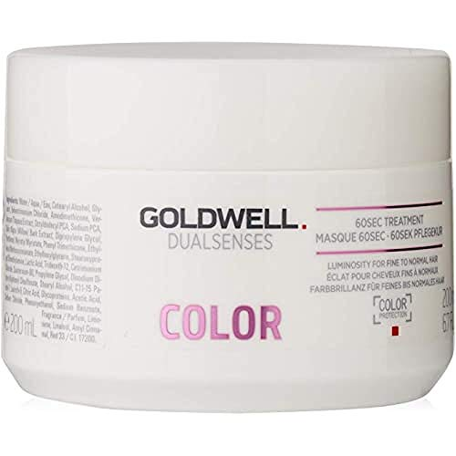 Goldwell Dualsenses Color 60 seconds Treatment- Pflegekur, 1er Pack (1 x 200 ml)