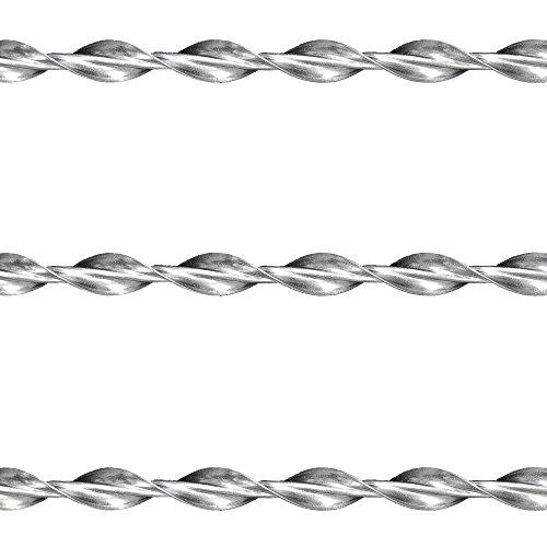 Orig. Ruberstein® Spiralanker 8 mm – 3 Stck x 1m Stange zur Risssanierung im Mauerwerk
