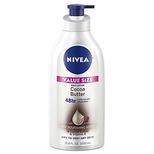 NIVEA Nivea Crema Corporal Humectante Con Cocoa, 1lt, color, 1000 ml, pack of/paquete de