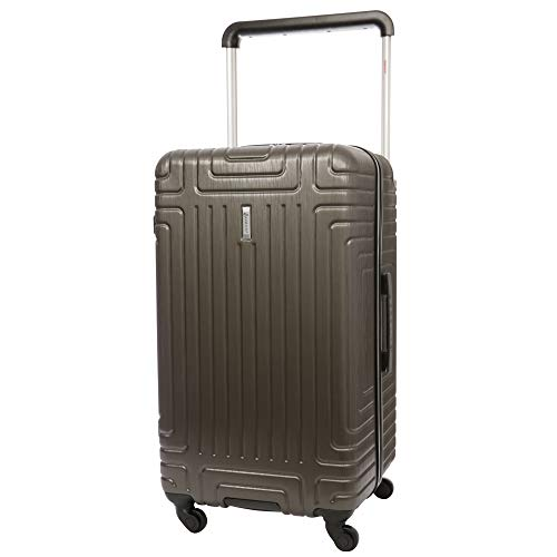 "Aerolite Large 28"" ABS Hard Shell Check in Checked Hold Luggage Trolley Bag Suitcase with 4 Wheels (Charcoal)"