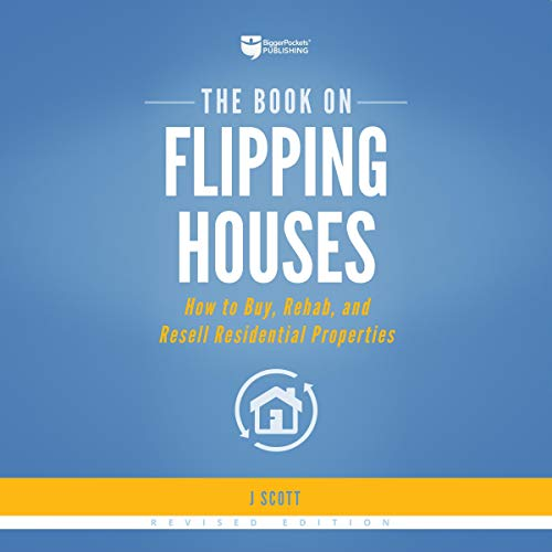 Page de couverture de The Book on Flipping Houses