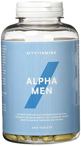 Myprotein Alpha Men Super Multi Vitamin 240 Tabletten, 1er Pack (1 x 300 g)