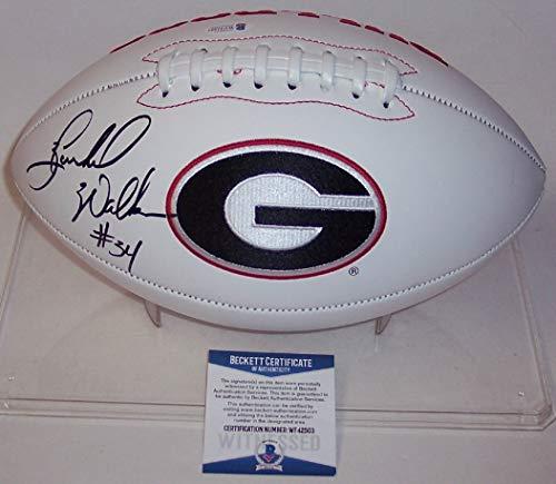 georgia bulldogs autographed - 6
