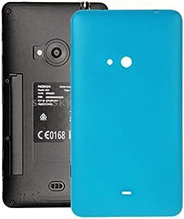 Fixa telefondelar renovera IPartsbuy för Nokia Lumia 625 Batteri Batteriladdning med sidoknappstillbehör (Color : Blue)