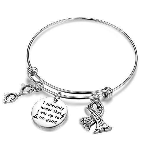 I Solemnly Swear I Am Up To No Good Bracelet (Silver)