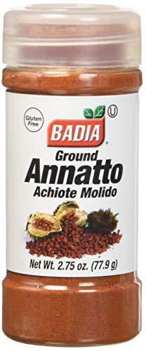 Badia Ground Annatto Seed, Achiote Molido, 2.75 Ounces