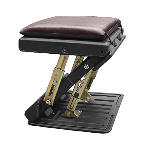 Foldable footrest with Removable Soft Foot Rest Pad, Adjustable Under Desk Foot Rest for Office, Home, car