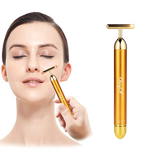 24K oro bar energia , facial roller ,massaggiatore viso lifting ,...