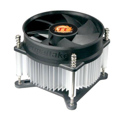 Thermaltake 7-bladed 92mm 4-Pins PWM Aluminum Extrusion CPU Cooling Fan for Intel Core i7/i5/i3 (Intel LGA 1200/1156/1155/1150/1151)CLP0556-B