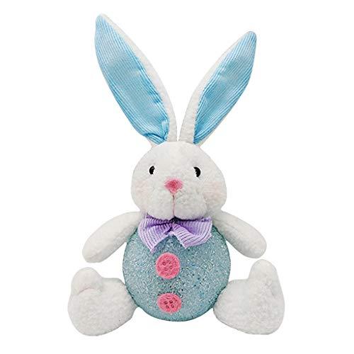 TCM-KE Osterhasen-Puppe, Nachtlicht, Osterei, Spielzeug, Ostern, Heim, Garten, Dekoration, bestes Geschenk für Kinder