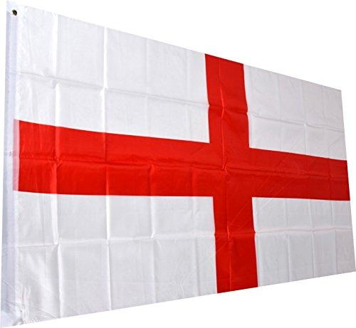 N.N. England Fahne englische National Flagge St. George Cross Flag 150 x 90 cm mit Schlaufe und Öse