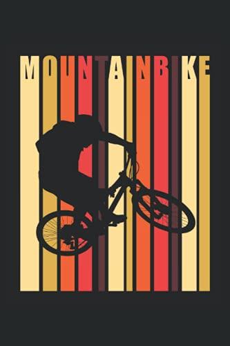 Mountainbike: DIN A5 Heft kariert 120 Seiten (Kariert) Notizbuch für alle die mit dem Fahrrad, Mountainbike oder E-Bike unterwegs sind