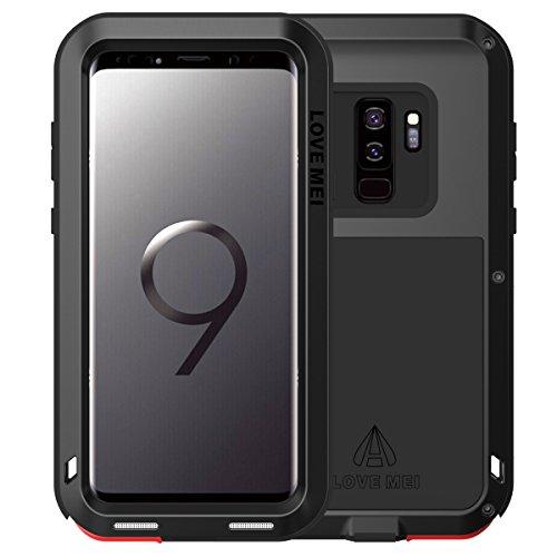 Love Mei - Funda Compatible con Samsung Galaxy S9 Plus Metal