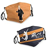 Haikyuu Christmas Cloth Face Mask 3D Scarf Face Neck Washable