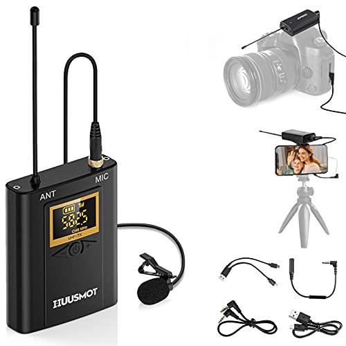 Wireless Lavalier Microphone System - HUUSMOT...