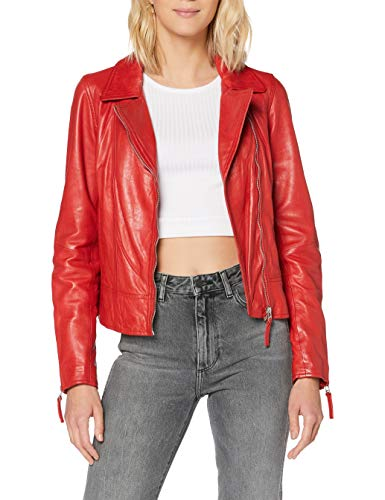 Freaky Nation Damen Chilly Girl-FN Jacke, Rot (Chilli Red 4125), X-Small (Herstellergröße: XS)