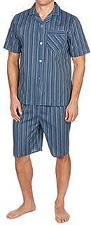 INSIGNIA Mens Pyjama Button Front Set Short Sleeve Top & Shorts