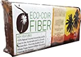 ECO-COIR Compressed Coco Fiber Peat 1.45-Pound (645 Gram) Brick