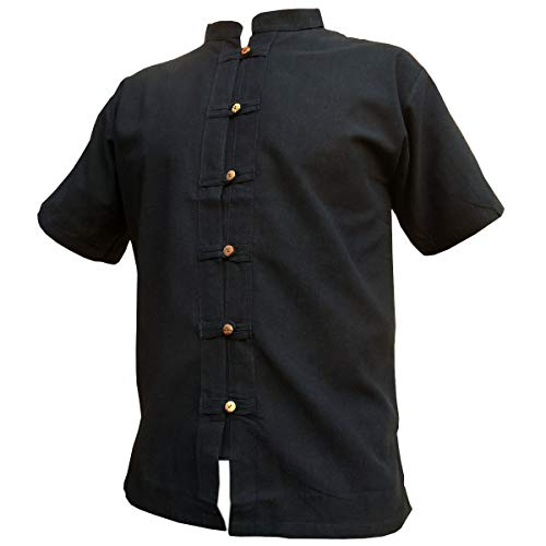 Fisher-Shirt RZI-01, Black, L, shortsl.