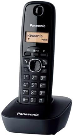 Panasonic KX-TG1611SPH - Teléfono fijo inalámbrico, Negro