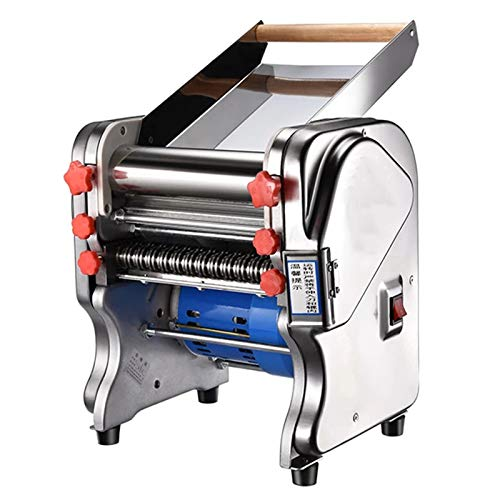 SISHUINIANHUA Edelstahl Nudelmaschine vollautomatische kommerzielle elektrische Nudelmaschine Knödel Haut Maschine,200