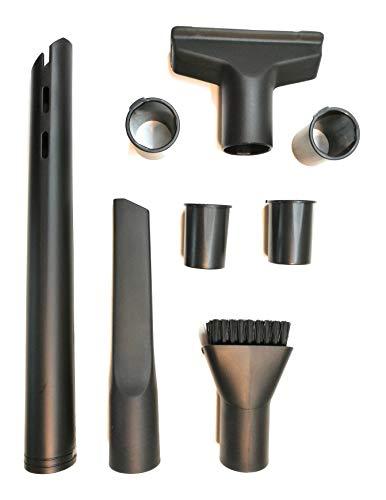 Staubsaugerdüsen für 32mm und 35mm Anschluss. Polsterdüse, Möbeldüse, lange, spezielle, flache Düse und kurze flache Düse.