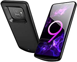 Elebase Galaxy S9 Battery Case, External Rechargeable Power Bank Charger,4700mAh Protective Portable Backup Charging Case Pack for Samsung Galaxy S9(Black)(Not for Galaxy S9 Plus)