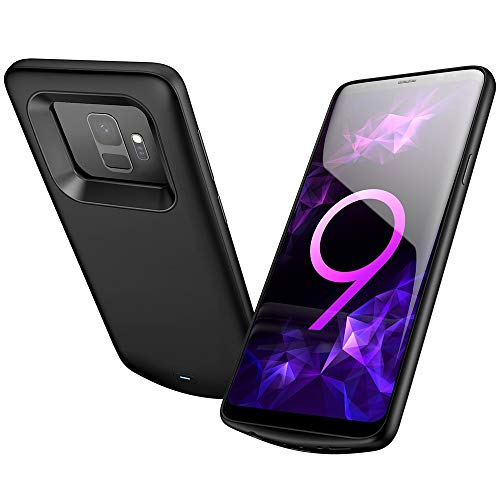 Elebase Galaxy S9 Battery Case, External Rechargeable Power Bank Charger,4700mAh Protective Portable...