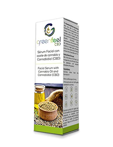 Serum facial Greenfeel CBD 2.5% (250 mg CBD) - 100%...