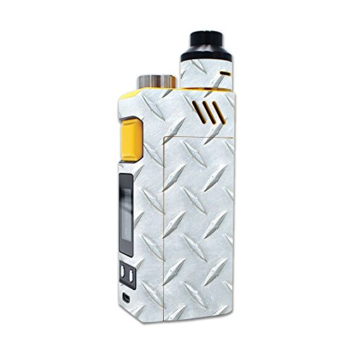 MightySkins Skin Compatible with iJoy RDTA Box 200W – Diamond Plate | Protective, Durable, and Unique Vinyl Decal wrap Cover | Easy to Apply, Remove, and Change Styles | Made in The USA