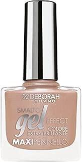 Deborah Milano Gel Effect Nail Polish, 02 Nude Lingerie, 8.5ml