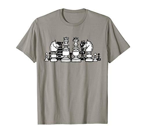 Camisa de ajedrez Vintage Nerd Geek Camiseta