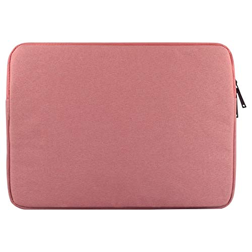 Banaz HNZZ Phone Case Universal Wearable Oxford Cloth Soft Business Inner Package Laptop Tablet Bag, For 14 inch and Below Macbook, Samsung, Lenovo, Sony, DELL Alienware, CHUWI, ASUS, (Color : Pink)