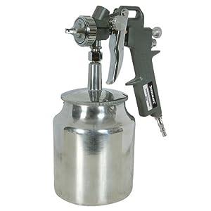 Silverline 196536 - Pistola para pintar por succión (750 ml)