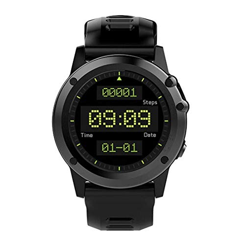 LYDB LYDB Uhren 1,39 Zoll 400 * 400 runde Bildschirmanzeige Smart Watch, IP68 wasserdicht, Unterstützung Schrittzähler/Kompass/Schlaf-Monitor/Sitzende Erinnerung/Video und Anruf gleichzeitig/Bluetoo