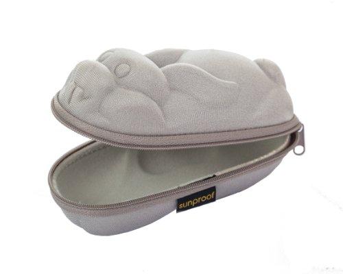 Yoccoes Yoccoes Design Brillenetuis für Kinder - Silber Kaninchen