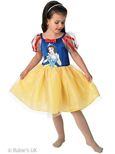 Rubies - Disfraz Infantil de Bailarina con diseño de Blancanieves de Disney.