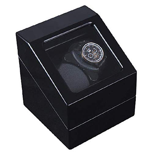 GUOOK GUOOK Luxusuhren Automatik Uhrenbeweger Box Verschleißschutz Uhrenständer Automatik Dual Uhrenbeweger 5 Modi Rotation Timer Funktion