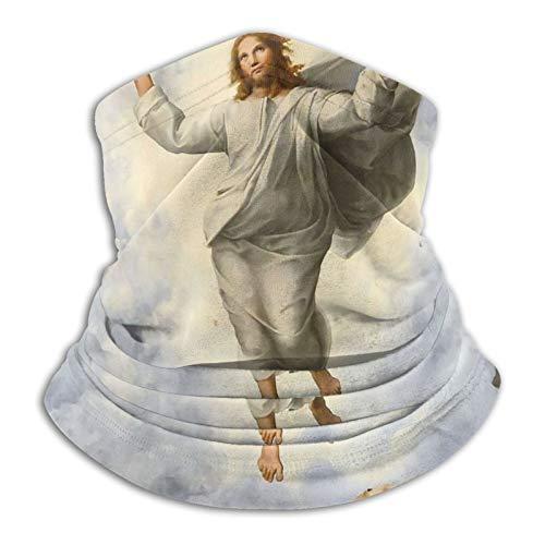 Jesus Loves You Christian God Faith - Máscara para el cuello, antideslizante, ligera, transpirable, para sol, viento, polvo, bandana, pasamontañas