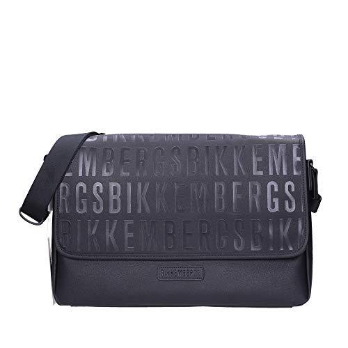 BIKKEMBERGS E93PME620032D38 - Bolso bandolera para hombre, color Negro, talla Einheitsgröße
